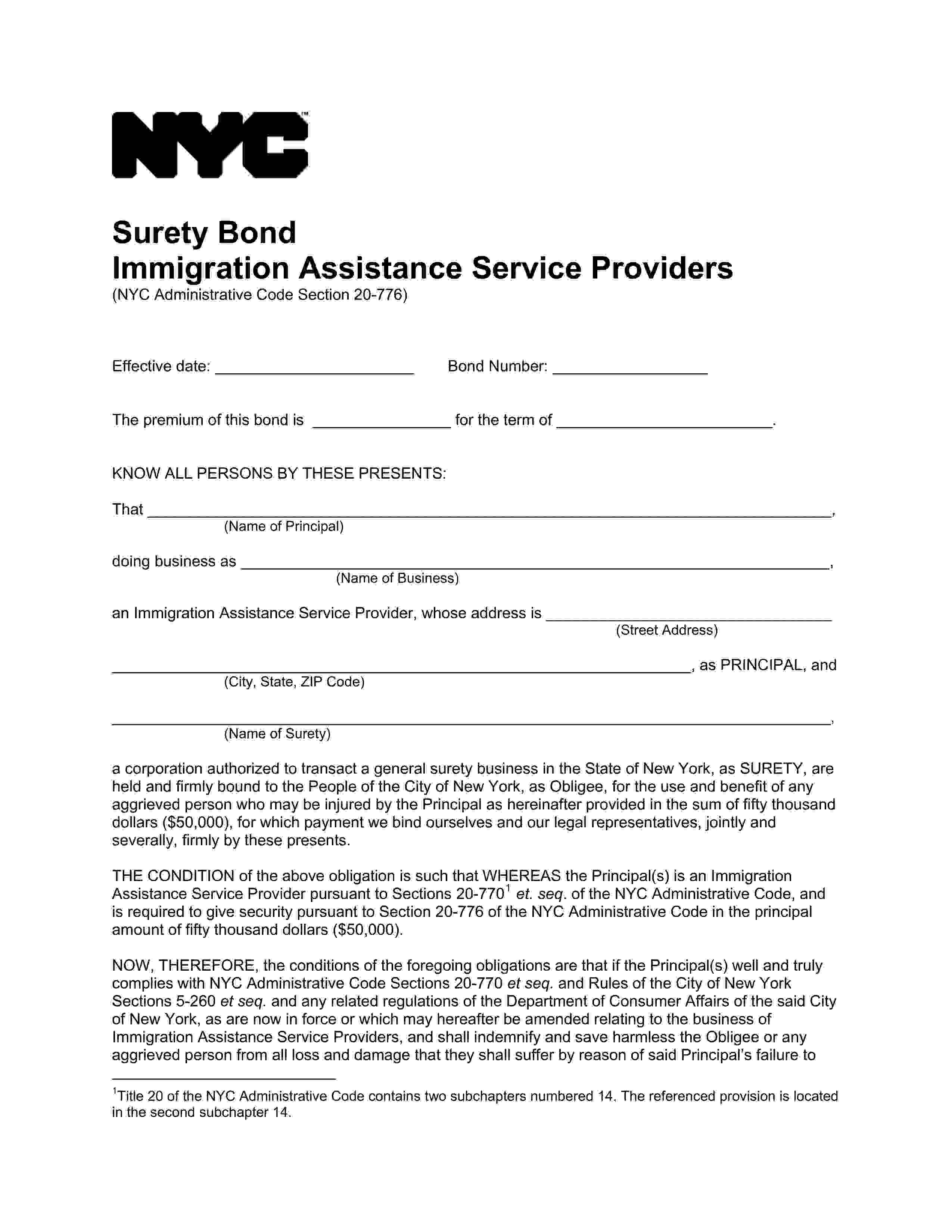 New York New york New York - City Immigration Assistance Service Provider sample image