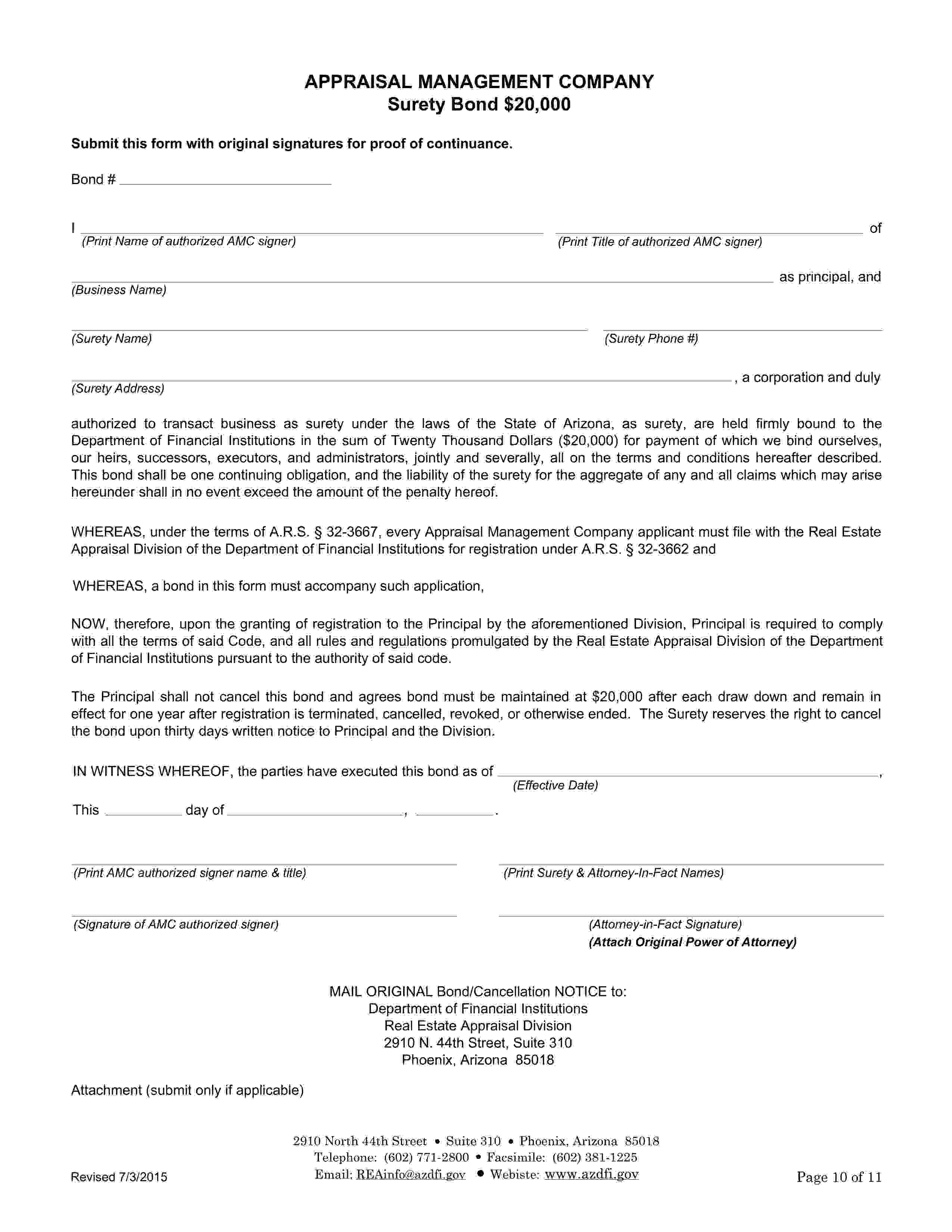 Appraisal Management Company sample image